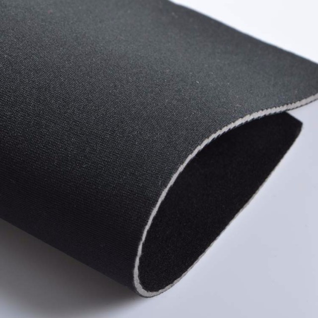 3 0mm Thickness Waterproof Black Srb Neoprene Thick Knit Fabric