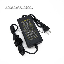 New High Quality AC 100-240V to DC 12V 4A 48W Power Supply Adapter US Plug Cord Cable Charger Socket адаптер meikai pdn 48 48 12v 4a 5 5x2 1mm 02528a pdn 48 48a