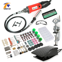 Tungfull Mini Drill 500W Engraver Rated Voltage 230v Power Tool Engraver Electric Machine Holder Power Tool Accessory