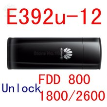 E392 Unlocked Huawei E392U-12 4G LTE USB Modem 4g stick 4g modem 4g USB dongle support 4g modem huawei router sim cheap Wireless 802 11b External Desktop Laptop 4G Card 54Mbps WCDMA EDGE LTE Stock