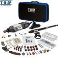 TASP 220 V 170 W Rotary herramienta eléctrica Mini taladro grabador Mini Kit de amoladora herramientas con los accesorios- MMD1700
