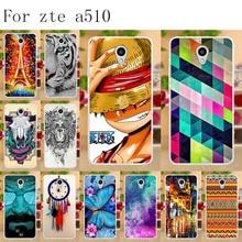Anunob Phone Case For ZTE Blade A510 Silicone Soft TPU Coque A 510 Cover Bumper Funda Bags