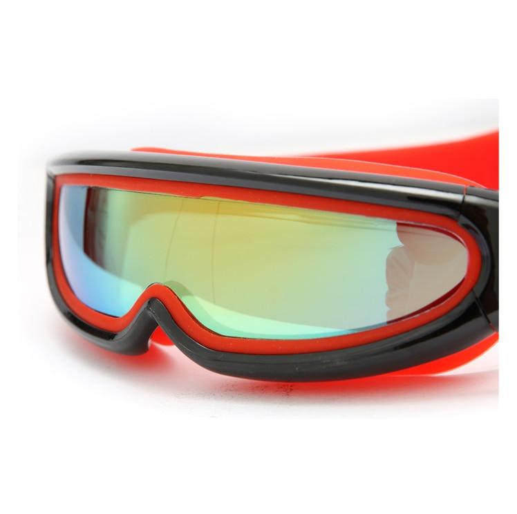 Niños gafas de natación de una pieza Anti niebla con el caso duro, niños Snorkel