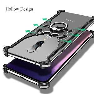 Image 5 - OATSBASF OnePlus 7 7pro pokrowiec na telefon komórkowy połówkowe metalowe ramki osobowość Batman Cover ultra cienka, wszechstronna, twarda obudowa