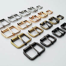 Diy Metalen Zware Hand Tas Schoen Riem Riem Web Passen Roller Pin Buckle Snap Rechthoek Ring Lederen Craft Reparatie dikte(China)