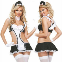 sex maid lady women sexy lingerie hot lace sexy maid costumes babydoll teddy erotic lingerie sexy cosplay uniform lingerie