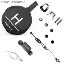 PGYTECH Accessories Combo for Mavic pro&Platinum (landing pad/Control Stick Protector/Lens Hood /filter 5PACK/landinggear/USB)