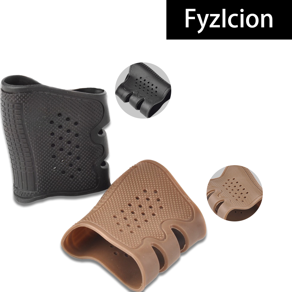 Image 4 - Hunting Tactics Anti Slip Grip Cover Glock Holster 17 19 20 21 22 31 32 and Most AR15 M4 AK 47 Glock Holster Kydex-in Hunting Gun Accessories from Sports & Entertainment