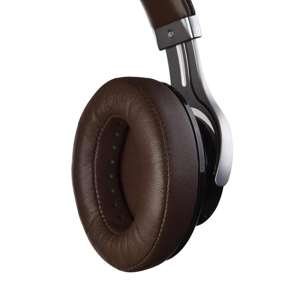 EDIFIER W855BT Over-ear słuchawki Bluetooth Stereo muzyka bezprzewodowe słuchawki BT 4.1 z mikrofonem 3.5mm przewód AUX zestaw słuchawkowy do gier