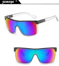 c22ef945e2292 ZSMEYE Estilo Flynn Óculos De Sol Dos Homens Ao Ar Livre de alta qualidade frete  grátis Anti-reflexo Óculos de Sol Mulheres gafa.