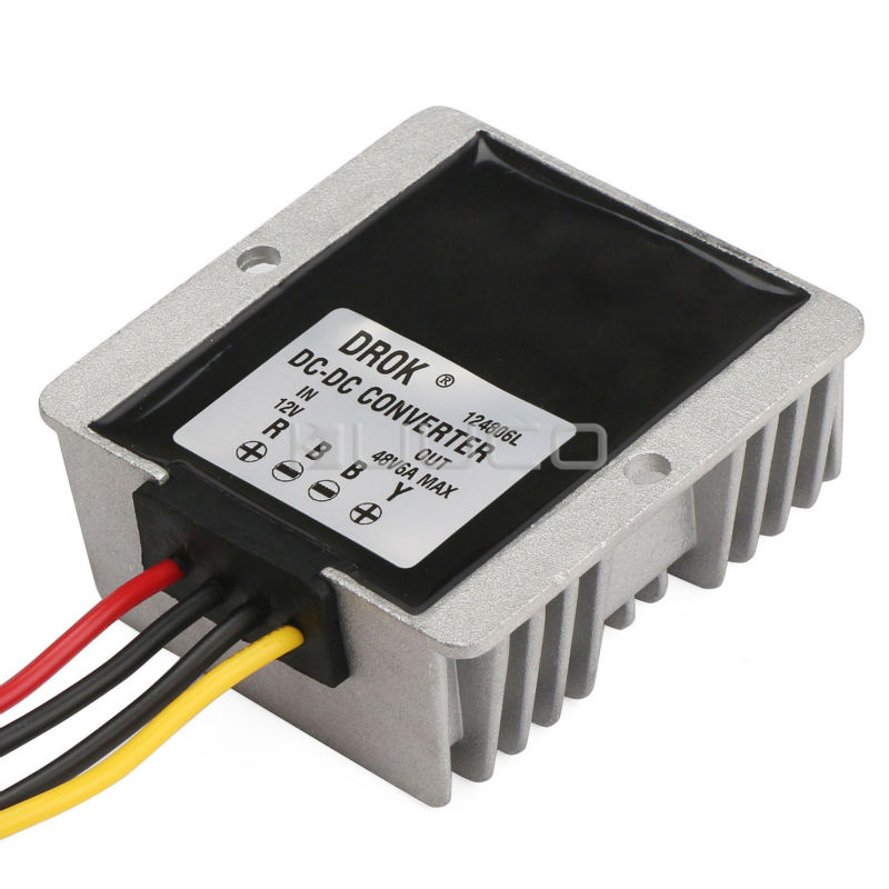 цена на 288W Car Converter DC 12V (9~30V) to 48V 6A Boost Voltage Regulator/Power Supply Module/Power Adapter/Driver Module Waterproof