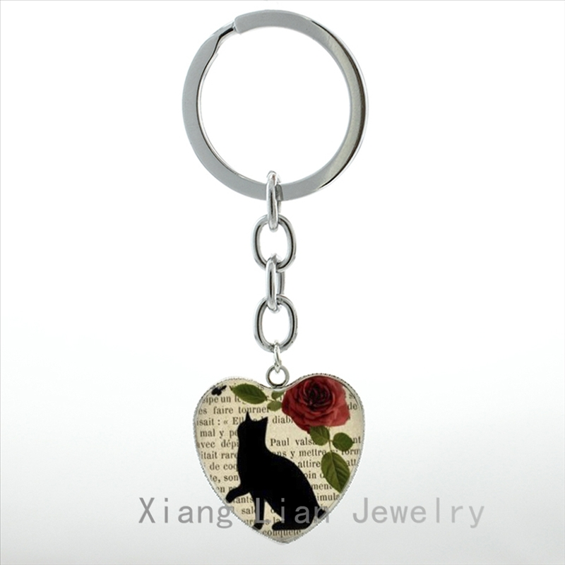 4e8e72cda66 ▽ New! Perfect quality 14k cat keychain and get free shipping ...