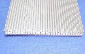Высокомощный плотный зуб алюминиевый теплоотвод LED алюминиевая полоса PCB радиатор алюминиевая пластина 156*15*200 мм радиатор