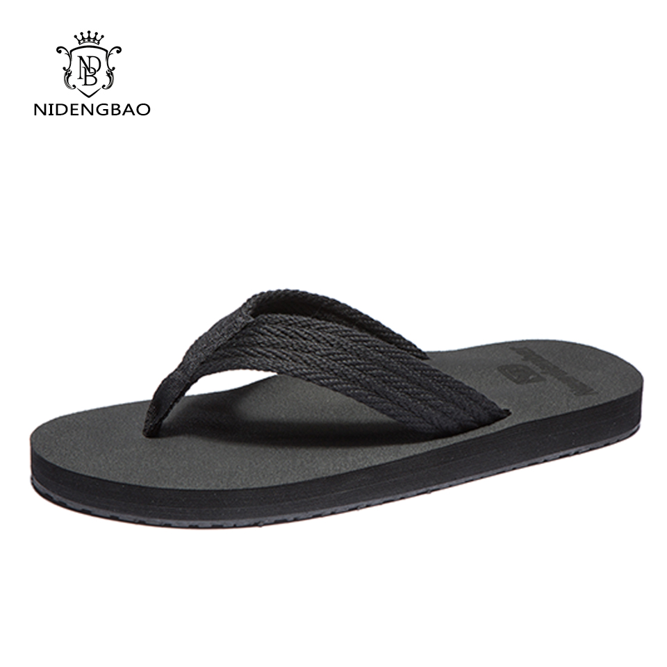 Brand Sandals Men Slippers Flat Comfortable Men's Flip Flops Casual Shoes Summer Beach Sapatos Hembre Sapatenis Masculino