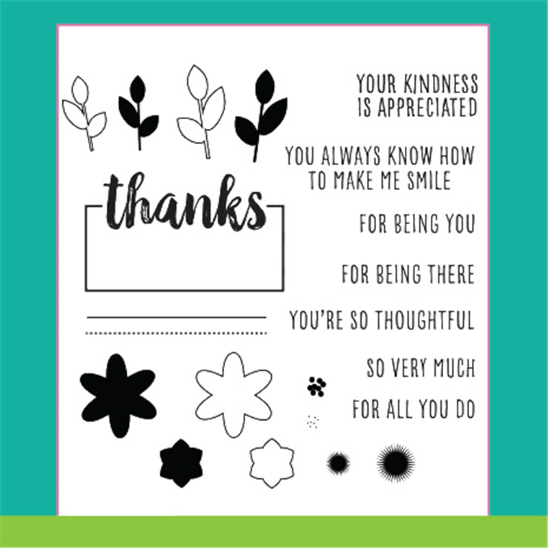 Flower Convenience Sign Circle Metal Cutting Dies and Clear Stamps New 2019 Die Cuts for Card Making Stitch Craft Troqueles in Cutting Dies from Home Garden