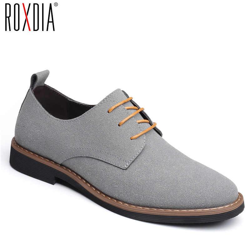 Zapatos casuales de cuero de moda para hombres cómodos