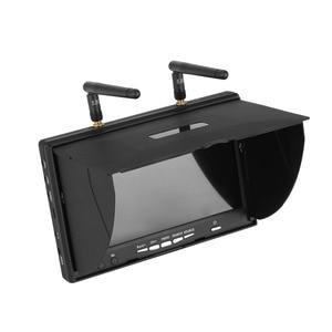 Image 3 - LCD5802D LCD5802S 5802 5.8 グラム 40CH 7 インチ Raceband FPV モニター 800 × 480 Dvr ビルドのバッテリービデオ画面 Fpv Multicopte