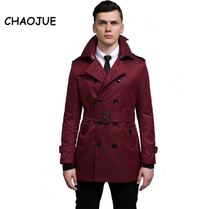 Men Long Jackets Luxury Concise Coats Warm Outwear Mens