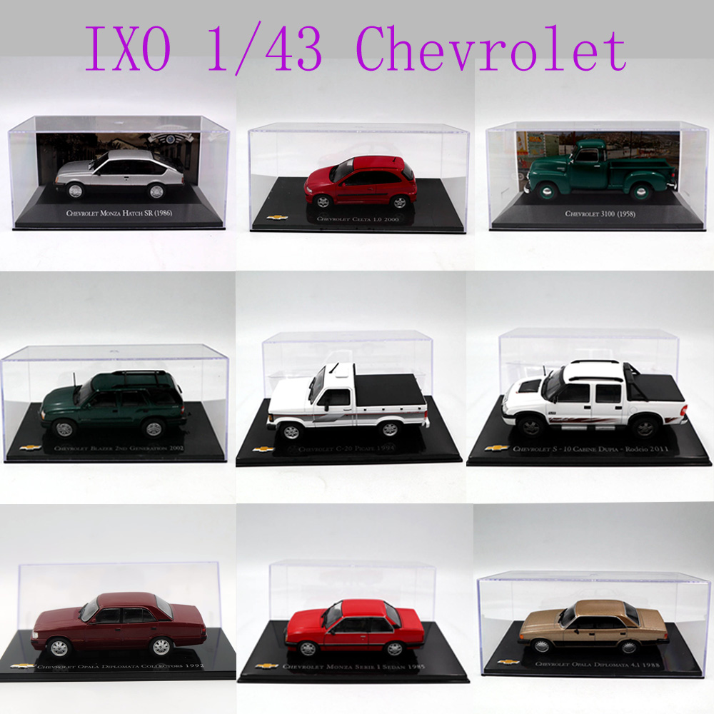 IXO 1:43 Different Years and Styles Chevrolet Chev...
