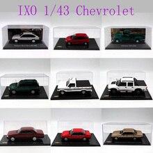 Ixo 1:43 Verschillende Jaar En Stijlen Chevrolet Chevette Monza/Amazona/Kadett Hatch/Opala/Vectra/Celta/Speelgoed Auto Diecast Modellen