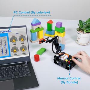 Image 3 - Sunمؤسس إلكترونيّ لتقوم بها بنفسك ذراع آلي عدة 4 Axis سيرفو تحكم Rollarm مع ذراع تحكّم سلكيّة لاردوينو Uno R3