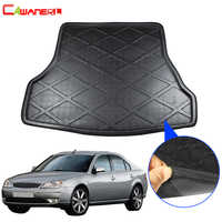 Cawanerl Car Rear Trunk Mat Boot Tray Liner Floor Luggage Carpet Mud Protector Cargo Pad For Ford Mondeo 2002-2008