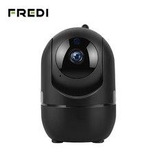 FREDI 1080 P Автоматическая отслеживающая наблюдения камеры WiFi для малышей для слежки за домашней безопасностью IP Камера ИК Ночное видение Беспроводной CCTV Камера