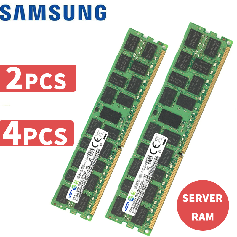 32GB For Samsung 4X 8GB PC3 10600U DDR3 1333MHz DIMM Desktop Memory RAM PC10600