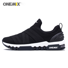 ONEMIX Running Shoes for Men Light Sneakers Women Breathable Sports Outdoor Trekking Walking Air Cushion 1296