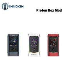 Originele 235W Innokin Proton Tc Doos Mod Max 235W Uitgang Aangedreven Door Dual 18650 Batterij Enorme Tft Kleur screen Vape Doos Mod Vs GEN3