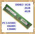 Memoria de escritorio original para Samsung DDR3 2 GB 4 GB 1 GB 1066 1333 1600 MHz 2 G 4 GB 1 GB PC3-8500U 10600U 12800U PC RAM 8500 1600 12800