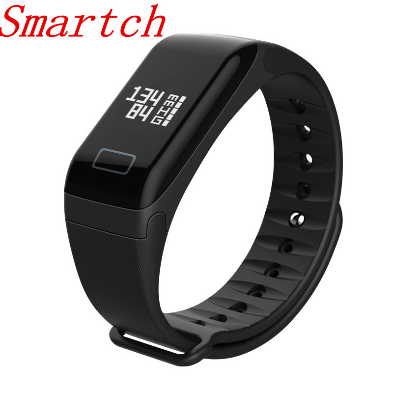 Smartch Sport F1 Smart band Blood Pressure bracelet Blood Oxygen Watch Heart Rate Monitor cardiaco Pedometer Smart Wristband