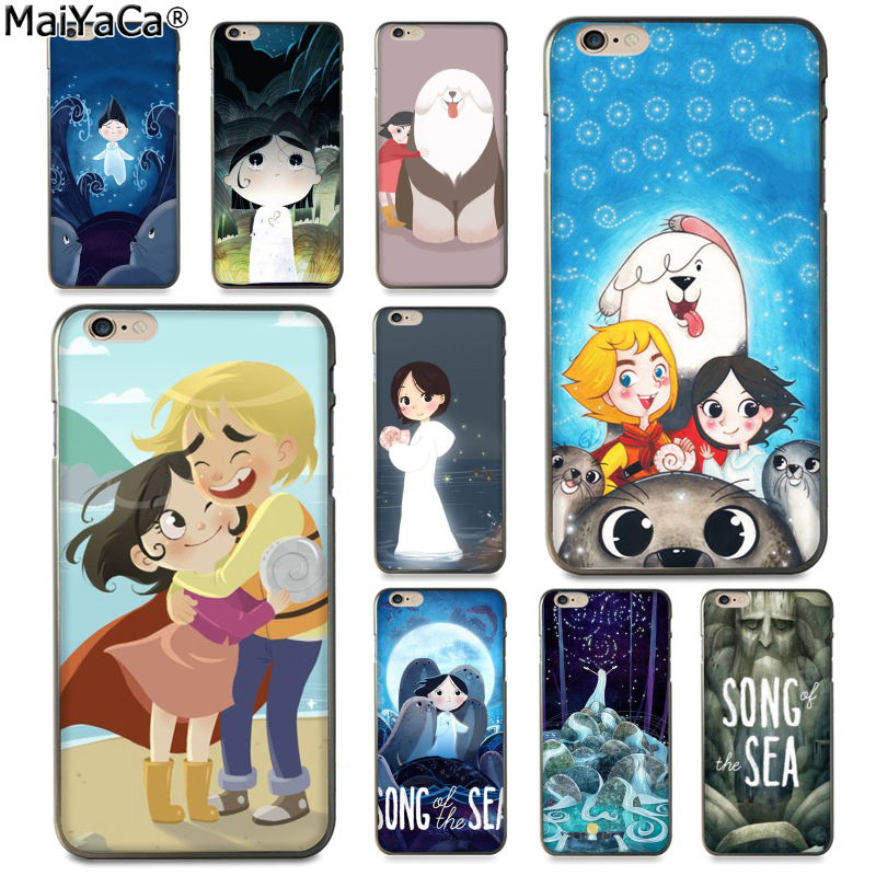 MaiYaCa Cartoon movie Song of the Sea Newest Fashion Luxury phone case for Apple iPhone 8 7 6 6S Plus X 5 5S SE 5C Cover