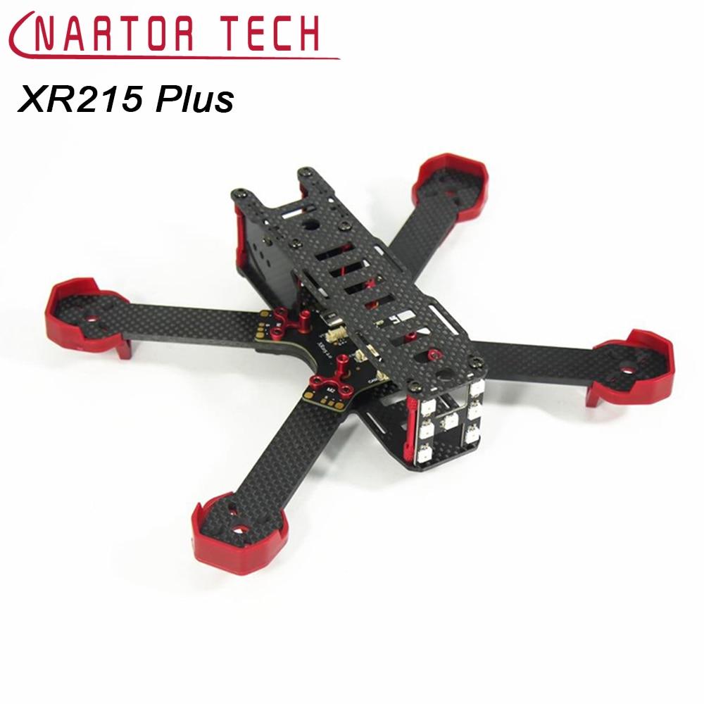 XR215 Plus Carbon Fiber Frame Built-in OSD LED For DIY Mini FPV Racing Drone Frame Kit XR215 Upgrade xr