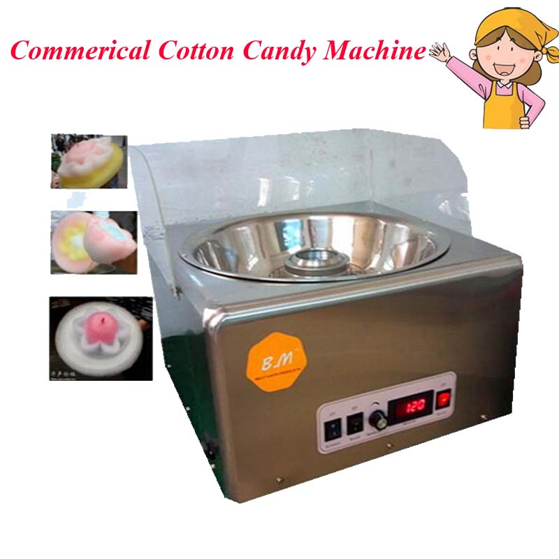 Adjustable Speed Fancy Stainless Steel Cotton Candy Machine Commercial Electric Cotton Candy Machine High Efficiency fancy pants candy corn