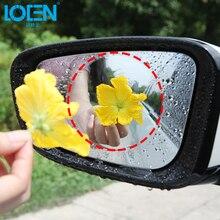 Непромокаемый автомобильный Грузовик Зеркало заднего вида наклейки прозрачная защитная пленка анти-туман Водонепроницаемый ПВХ окна прозрачной защитной Универсальный 2 шт./компл