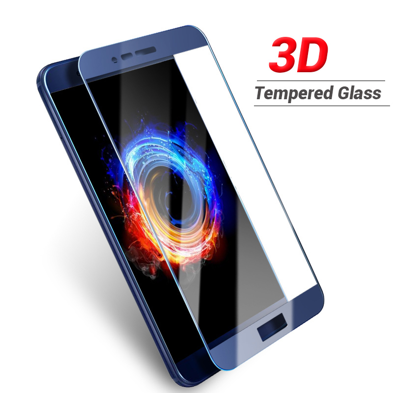 3D Glass For Huawei Honor 6 Tempered Full Cover Protective Film For Huawei Honor 6X 6A 6C Pro 6 HD Clear Screen Protector Glass