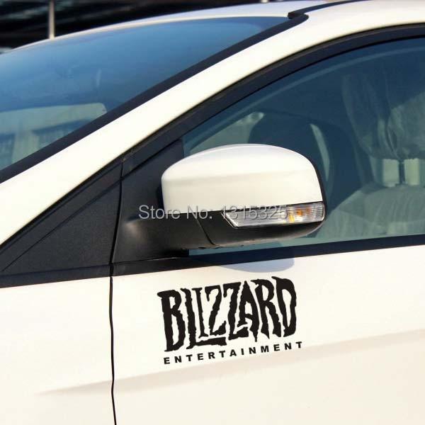 Aliauto Blizzard Entertainment Reflective Car Sticker Decal for Toyota Ford Chevrolet VW skoda polo Honda Hyundai Kia Lada