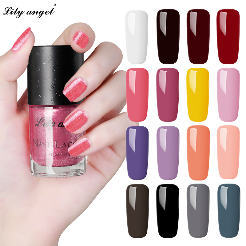 10ML Nail Polish Fashion Gel Varnishes Long-lasting 48 Colors Non-toxic nail polish Peel off Glitter Nail Lacquer Paint