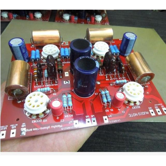 US $82 54 49% OFF|Engraved British music aristocrat audionote European  version p series 300b bile amp builtin MM tube 12ax7 amplifier finish  board-in