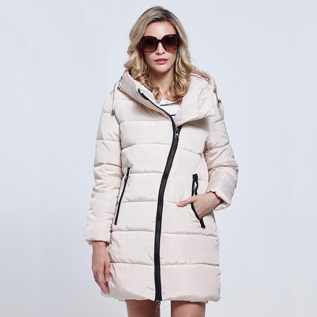 Casaco Jaqueta de algodão acolchoado mulheres jaqueta de inverno primavera mulheres jaqueta casaco de inverno quente Vestuário Feminino de Alta Qualidade