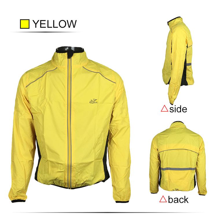 8 BESTGIA Hot Selling Ultra-light Tour De France Bicycle Jacket Bike Windproof Raincoat Road Track MTB Aero Cycling Wind Coat Men Clothing