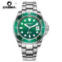 새로운 럭셔리 브랜드 시계 다기능 기계식 남성용 시계 달력 빛나는 손 방수 남자 손목 시계 6916