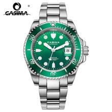 Lyx märke 2018 ny ankomst klocka multifunktionella mekaniska herr klocka kalender vattentäta män wristwatches6916