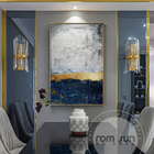 Abstract Gold Foil C...