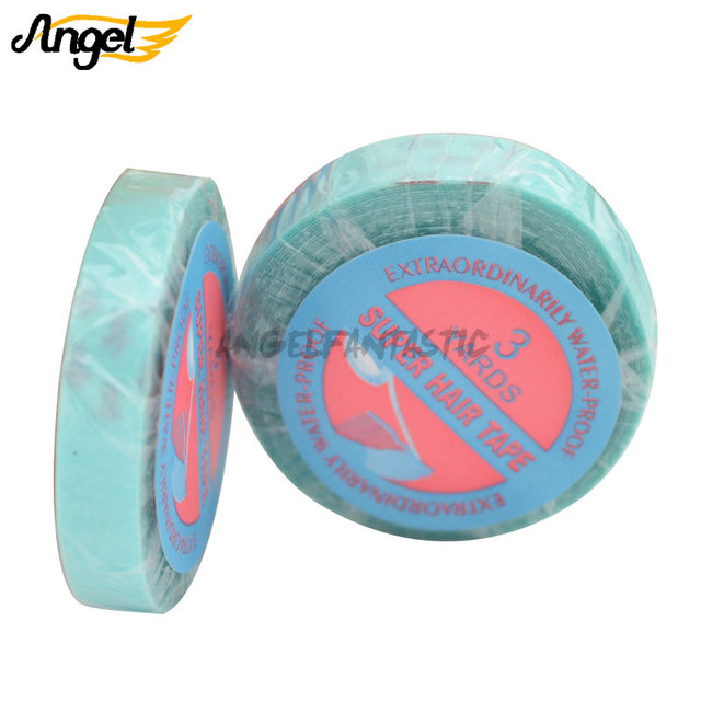 Wholesale 08cm1cm3yards Double Sided Adhesive Tape Wig Glue For