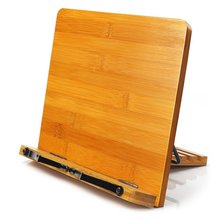 Регулируемый держатель для книг лоток и страницы скрепки-кулинарная книга стол для чтения Портативный прочный легкий книжный стенд-учебники подставка