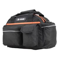 New Bicycle Seat Rack Bag Outdoor Bike Folded Handbag Pack For Convenient Travel