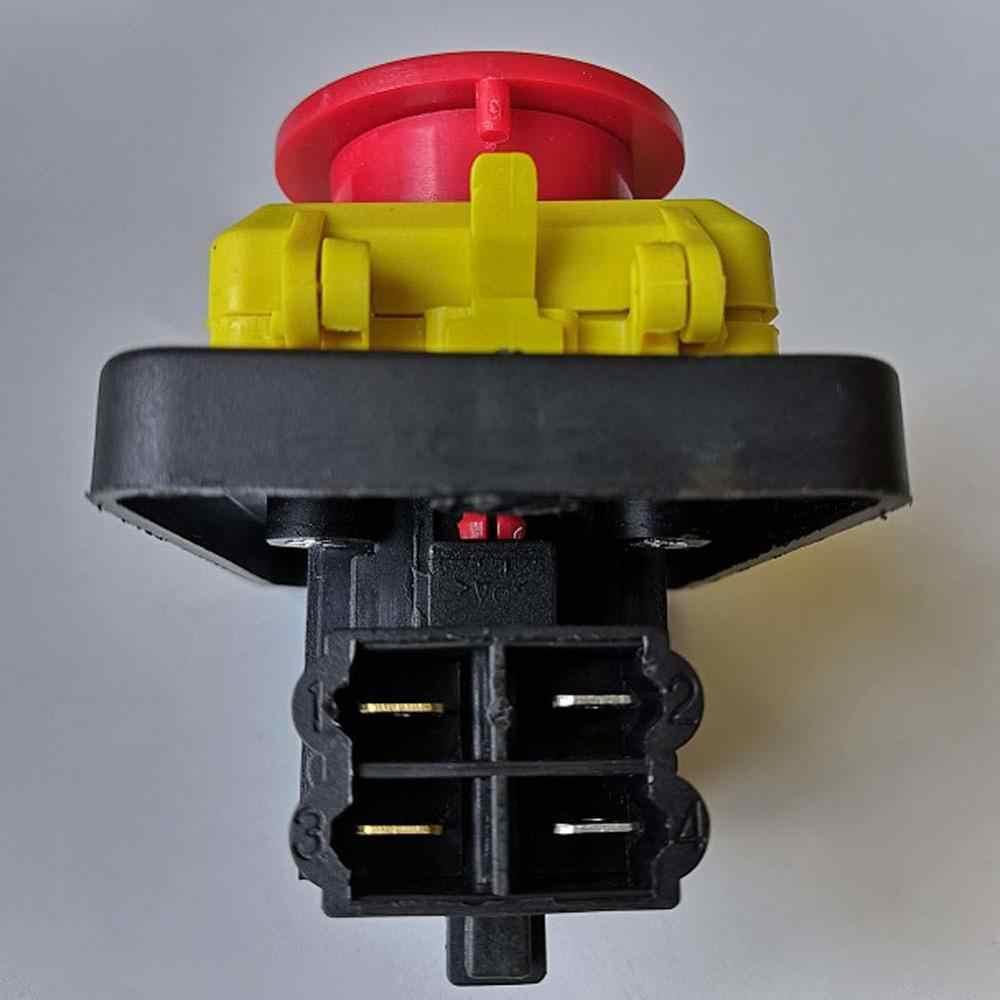 CK5 CK-5 125 В 16A 250 В 10A 4 контакта электромагнитный кнопочный переключатель стоп старт выключения кнопочные переключатели для электрического инструмента
