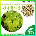Venda quente homem de cuidados de saúde para o extrato do epimedium extrato da erva pura cápsulas de 500 mg * 600 pcs